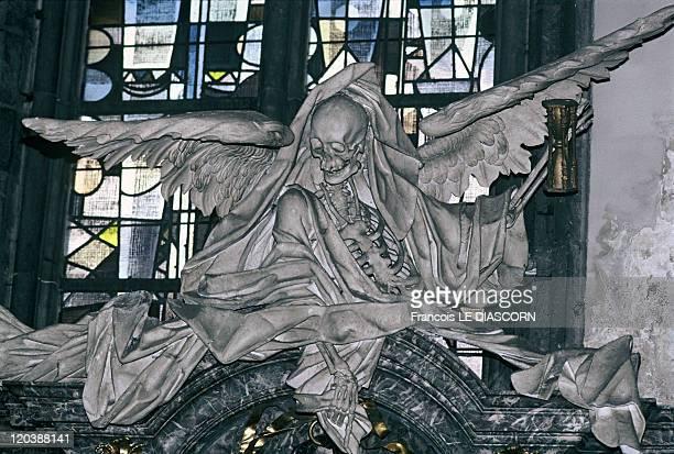 The Angels in Kortrijk Belgium Baroque church in Courtrai