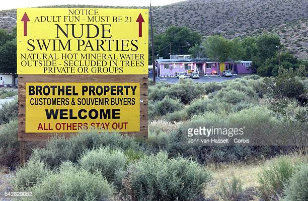 The Angel's Ladies Brothel in Nye County is located 3 miles north of Beatty on Highway 95 | Location Beatty Nevada United States