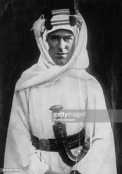 The Anglo-Irish soldier and Arabist Thomas Edward Lawrence, known as Lawrence of Arabia.