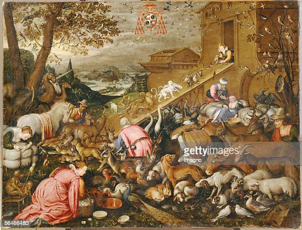 The animals enter the Ark by Kaspar Memberger Memberger was court painter to PrinceArchbishop WolfDietrich von Raitenau who ordered the five...