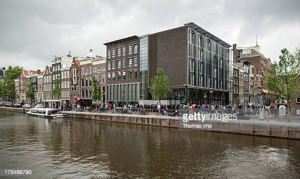 The Anne Franck Haus at the Prinsengracht on June 24 2013 in Amsterdam Netherland