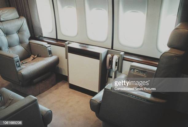 The Annex of Air Force One the President of the United States' official air transport in executive configuration 27th September 1990 It can be...