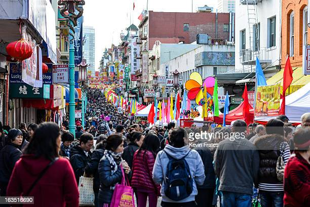 CONTENT] The annual Chinese New Year Flower Market Fair in San Francisco's Chinatown This event is hugely popular as you can see here Vendors sell...