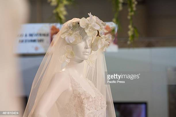 The annual edition of Roma Sposa 2015 wherein many exhibitors present their various wedding concepts