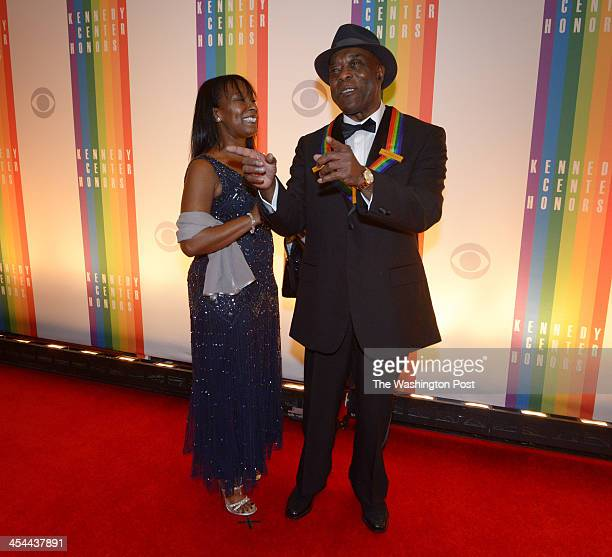 The annual Kennedy Center Honors for from left Billy Joel Martina Arroyo Herbie Hancock Shirley MacLaine and Carlos Santana on December 2013 in...
