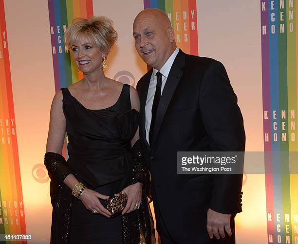 The annual Kennedy Center Honors for Herbie Hancock Martina Arroyo Shirley MacLaine Billy Joel and Carlos Santana on December 2013 in Washington DC...