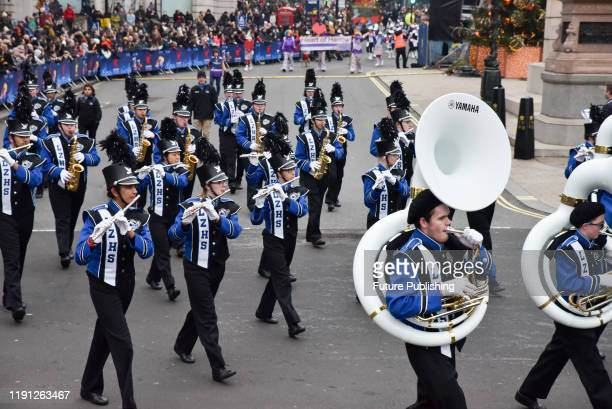 The Annual News Years day parade in Central London. PHOTOGRAPH BY Matthew Chattle / Barcroft Media