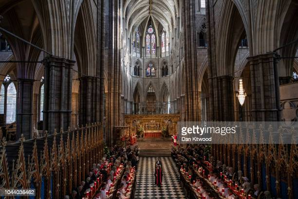 The annual service to mark the start of the legal year takes place in Westminster Abbey on October 1 2018 in London England The service conducted by...