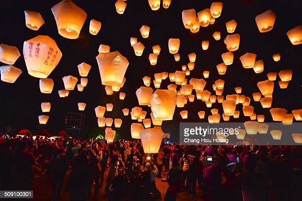 The annual sky lantern festival in northern Taiwan's Pingxi District was named by the world's largest publisher of travel guides as one of the...