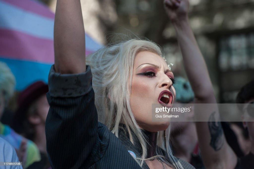 London Trans Pride 2019 : News Photo
