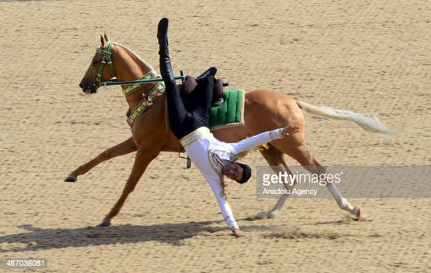 The annual Turkmen Racing Horse Festival is held in the Turkmen capital of Ashgabat on April 27, 2014. Turkish President Abdullah Gul attended the...