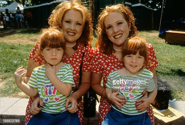 The annual twin festival in Twinsburg Ohio 3rd August 1997