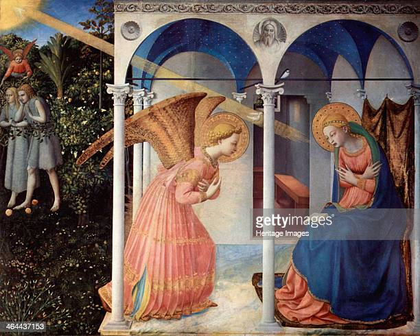 The Annunciation' 14301432 Angelico Fra Giovanni da Fiesole Found in the collection of the Museo del Prado Madrid