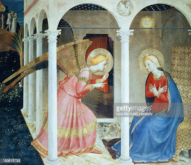 The Annunciation 14341436 by Giovanni da Fiesole known as Fra Angelico