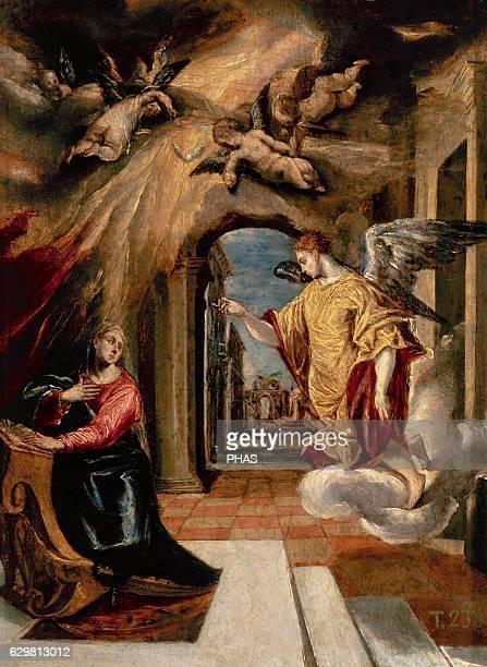 The Annunciation 15701572 by El Greco