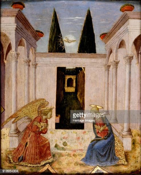 The Annunciation, 15th century. Dimensions: height x width x depth: 23.2 x 19.6 cm