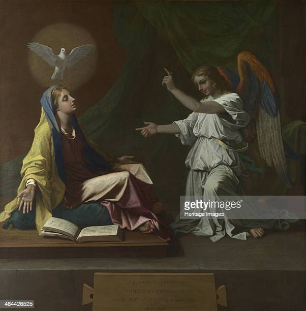 The Annunciation, 1657. Found in the collection of the National Gallery, London.