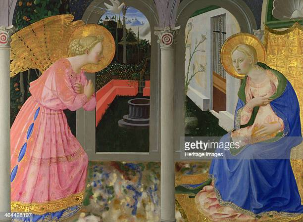 The Annunciation c 1440 Found in the collection of the National Gallery London