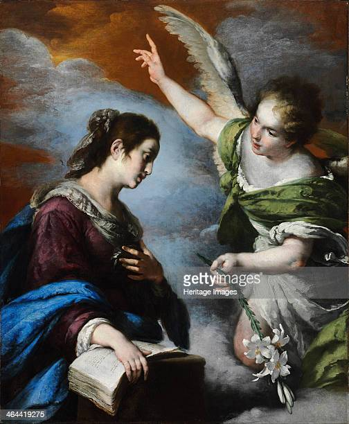 The Annunciation c 1644 Found in the collection of the Szepmuveszeti Muzeum Budapest