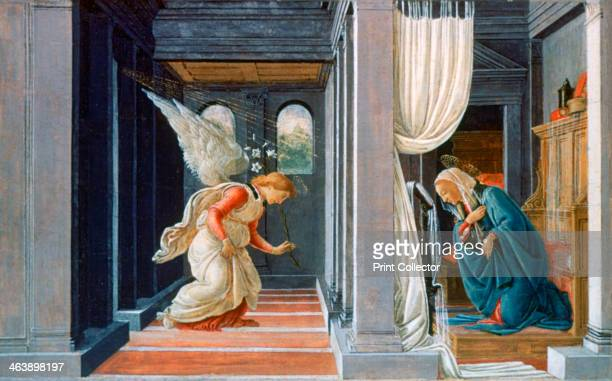 'The Annunciation' c1485 From the collection of the The Metropolitan Museum of Art New York