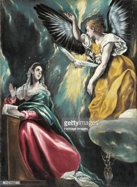 The Annunciation ca 15961600 Found in the collection of Ohara Museum of Art Kurashiki