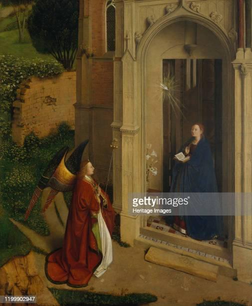 The Annunciation circa 1450 Artist Petrus Christus