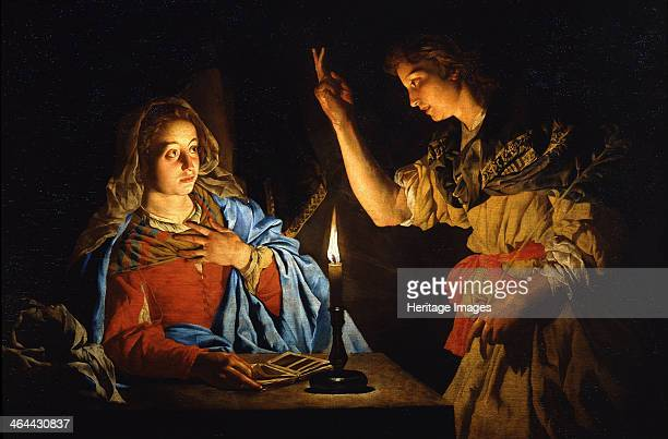 The Annunciation Early 17th cen Found in the collection of the Galleria degli Uffizi Florence