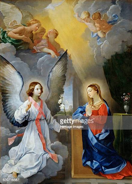 The Annunciation Found in the collection of Louvre Paris