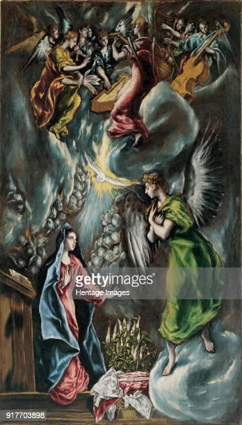 The Annunciation Found in the Collection of Museo de Bellas Artes de Bilbao