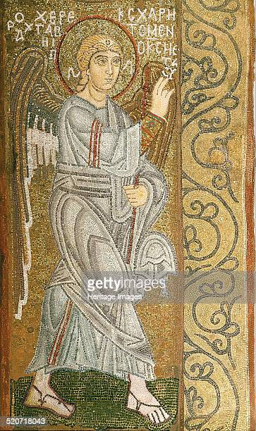 The Annunciation Found in the collection of Saint Sophia Cathedral Kiev