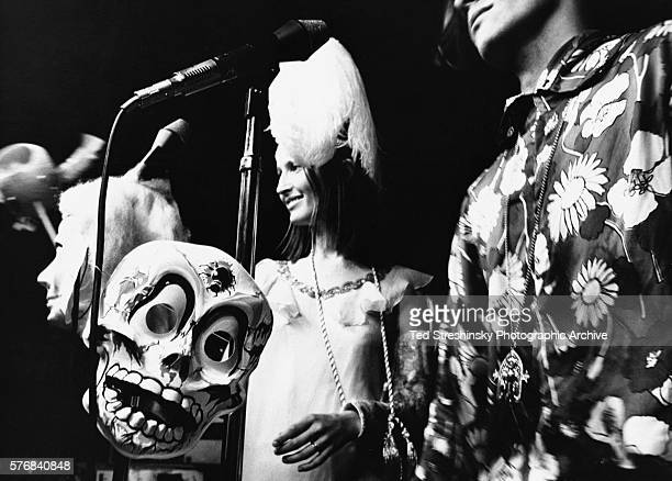 The Anonymous Artists of America perform at the Acid Test Graduation a celebration organized by Ken Kesey and his Merry Pranksters in which...