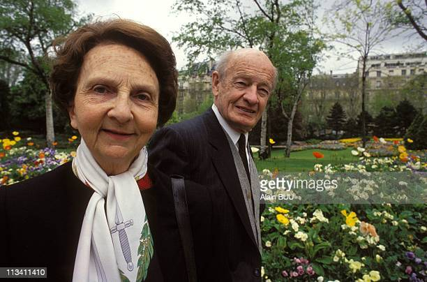 The Anonymous Heroes Of Dien Bien Phu On April 24Th 1994 Genevieve De Galard And Veteran Of Indochina War Maurice Blanchet