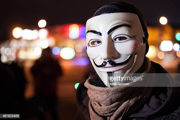 CONTENT] The Anonymous movement a continuation of the Occupy protest of 20112012 made a comback around the world on November 5 2013 as the...