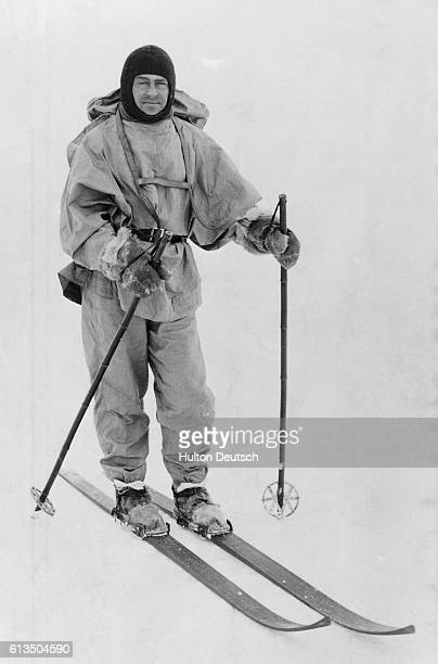 The Antarctic explorer Robert Falcon Scott He reached the South Pole in January 1912 only to be beaten by a month by Roald Amundsen's Norwegian party...