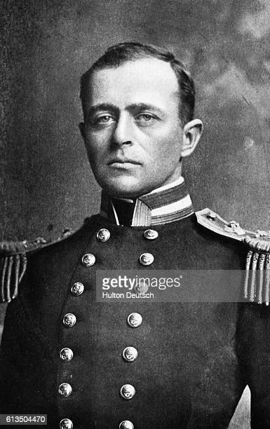 The Antarctic explorer Robert Falcon Scott In 1912 his expedition party reached the South Pole but all died on the return journey