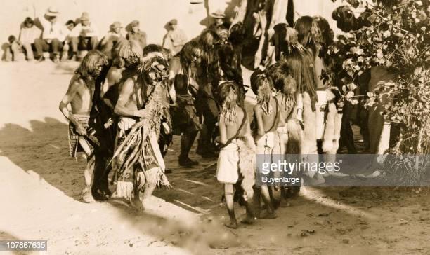 The Antelope dance--Hopi Indian dancers, 1921.