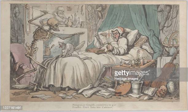 The Antiquary's Last Will and Testament 1816 Artist Thomas Rowlandson