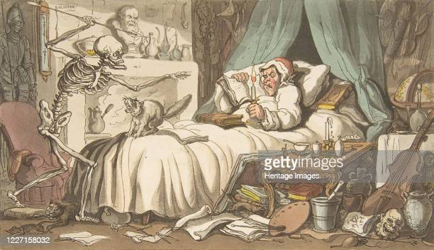 The Antiquary's Last Will and Testament April 1 1814 Artist Thomas Rowlandson