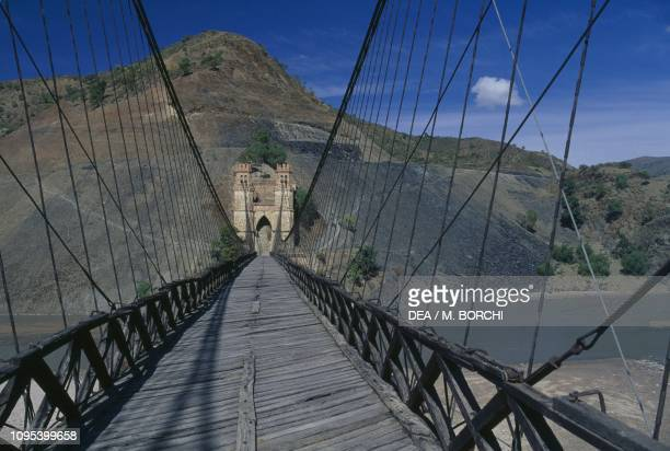 The Antonio Jose de Sucre Bridge on the Pilcomay River Potosi Bolivia