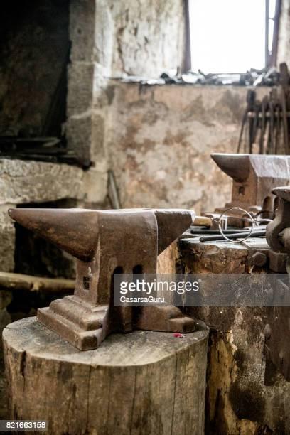 The Anvil in Blacksmith Shop