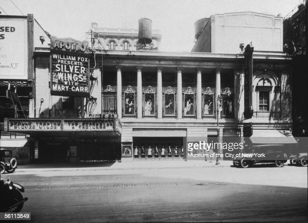 The Apollo Theatre on 42nd Street early 1900s