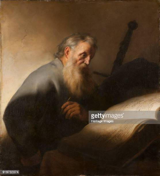 The Apostle Paul, 1627. Found in the Collection of Nationalmuseum Stockholm.