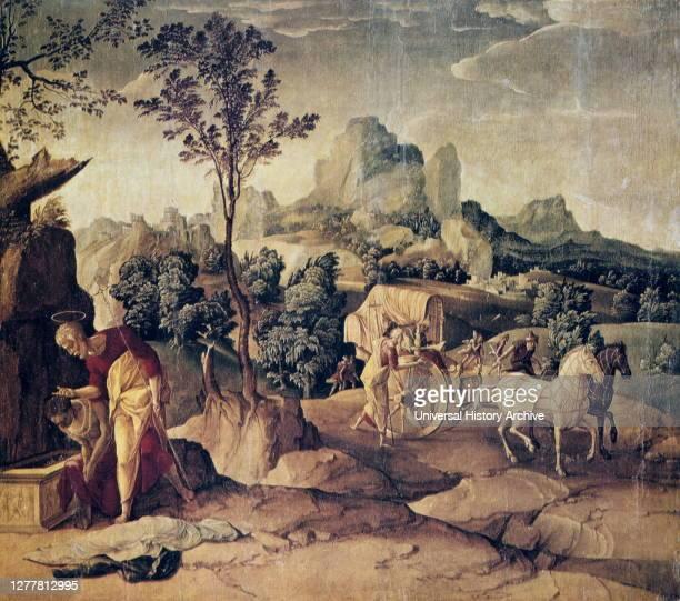 The Apostle Philip Baptizing the Eunuch', 16th century..