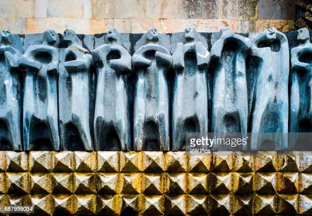 The Apostles' sculpture Sanctuary of Arantzazu O–ate Guipuzkoa Spain
