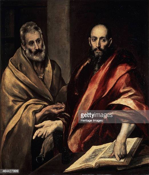 The Apostles St Peter and St Paul 15871592 Found in the collection of the State Hermitage St Petersburg