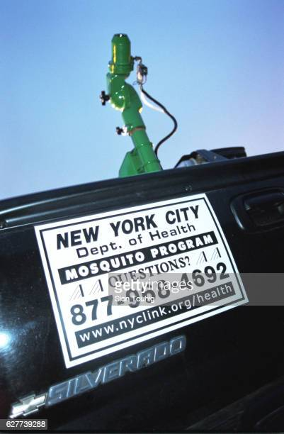 The apparatus used by the New York City Department of Health to spray pesticide in its attempt to eradicate mosquitos carrying the West Nile Virus
