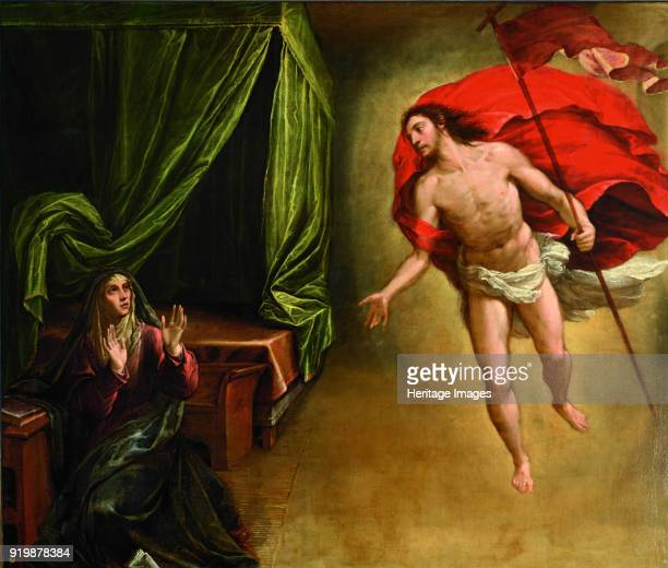 The Appearance of Christ to his Mother 1579 Found in the collection of Monasterio de El EscorialFine Art Images/Heritage Images/Getty Images