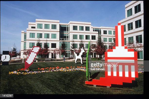 The Apple Computer office building is on display March 15 1997 in San Francisco CA Since the beginning of the 1990s San Francisco has become the...