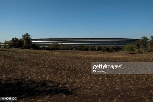 The Apple Inc campus stands after an event in Cupertino California US on Tuesday Sept 12 2017 Apple unveiled its most important new iPhone for years...