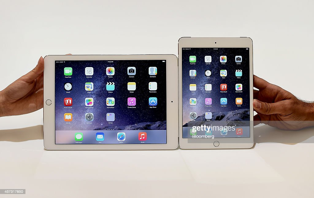 Apple Inc. Announces The New iPad Air 2 And iPad Mini 3 : ニュース写真